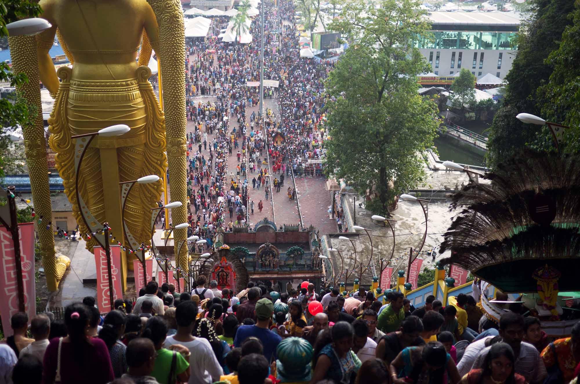Thaipusam, la festa indù più importante per la comunità indiana in Malesia
