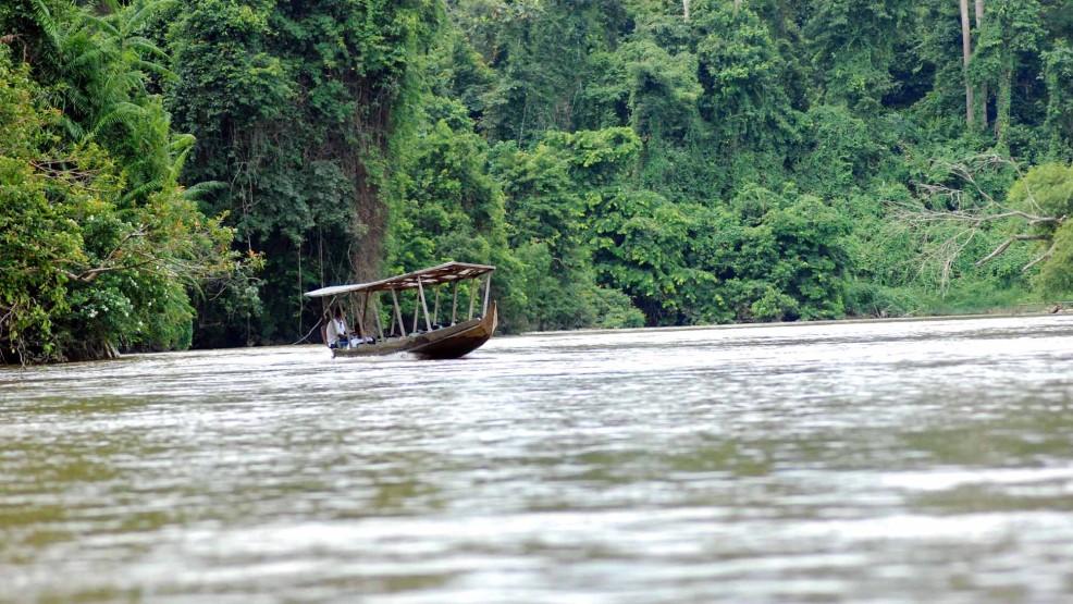 Parco nazionale taman negara nella terra di sandokan for Cabine sul bordo del fiume