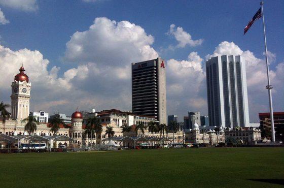 La piazza Dataran Merdeka