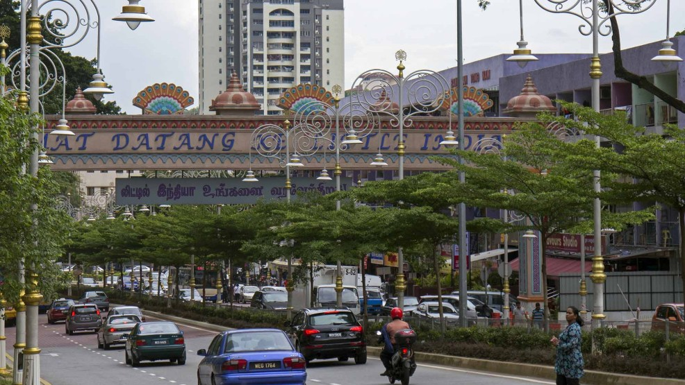 Image result for SELAMAT DATANG INDIAN HERITAGE IN BRICKFIELD KL