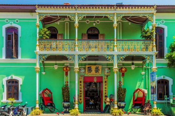 La casa – museo Peranakan mansion