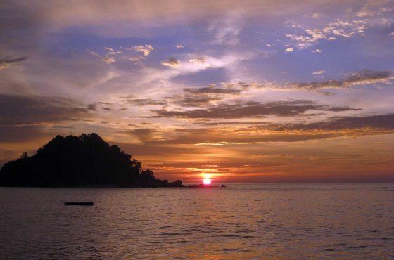 Sull'isola di Pangkor