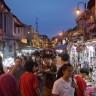 Mercato serale di Malacca
