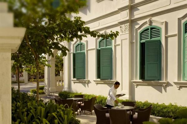 Majestic Malacca, cortile