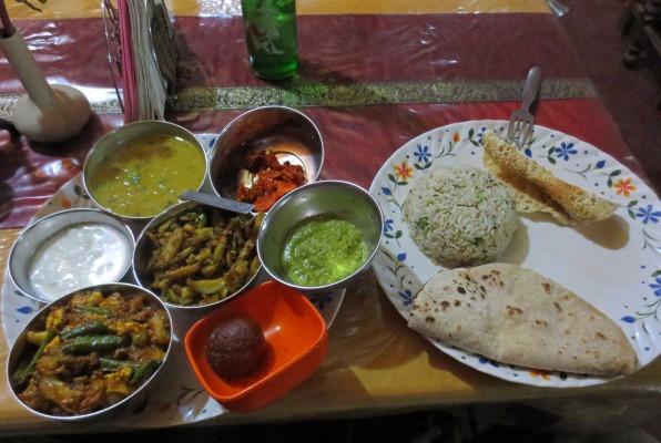Un delizioso thali indiano - © P. Coluzzi