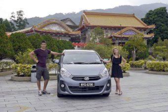 Kuala Lumpur – Georgetown 'on the road'