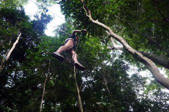 Emozioni tra corde e moschettoni nel parco nazionale Belum Temenggor