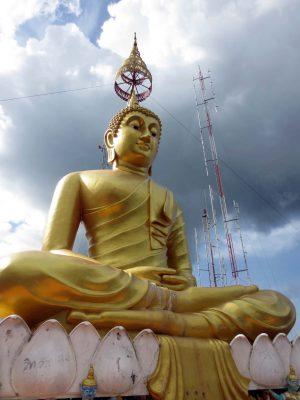 Buddha sulla rupe del Wat Tham Sua