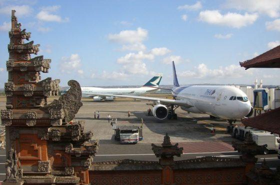 L'aeroporto internazionale di Bali