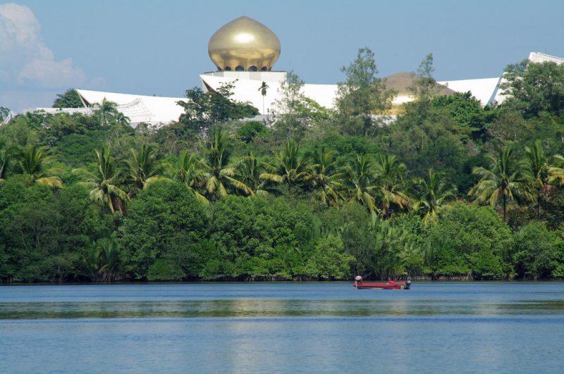 Il fiume Brunei