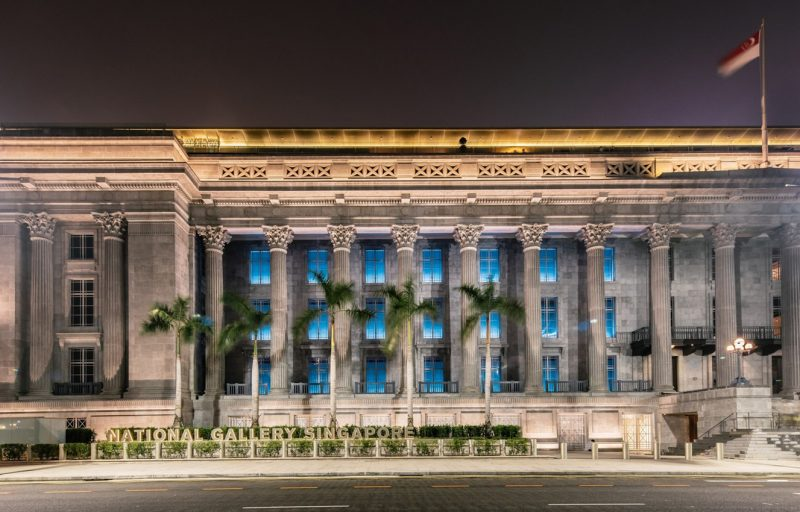 Il vecchio municipio di Singapore