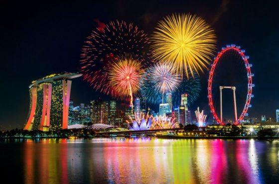 La festa nazionale di Singapore