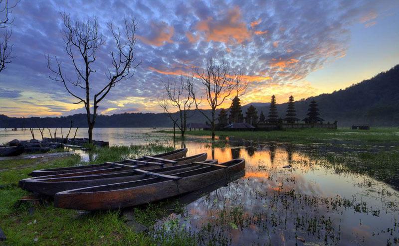 Il lago Tamblingan
