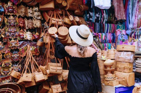 Il mercato dell'arte di Ubud