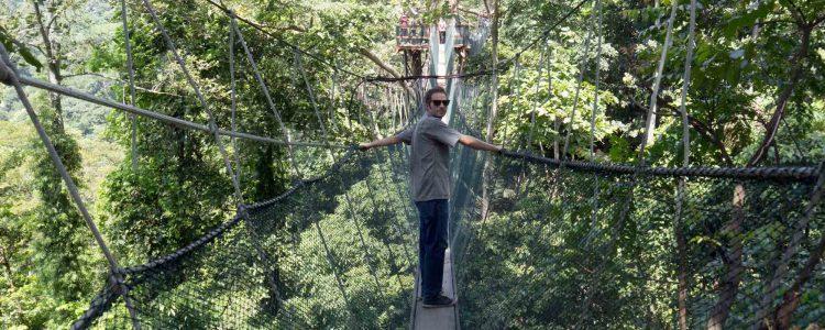 Kinabalu Park, Hot Poring Spring / Canopy walk